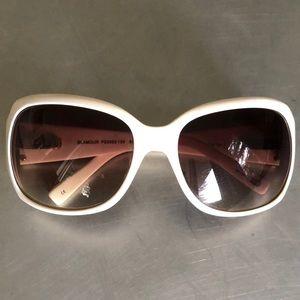 Fossil - off white acetate frame sunglasses